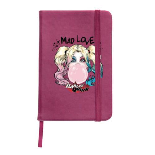 Harley Quinn jegyzetfüzet, notesz A5 - Mad Love Pink
