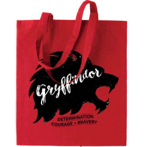 Harry Potter vászontáska - bevásárlótáska - Griffendél