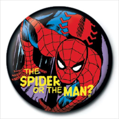 Marvel Pókember kitűző - Retro