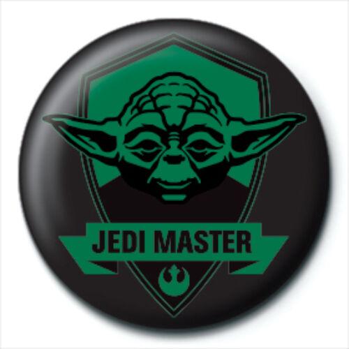 Star Wars Yoda kitűző - Jedi Master