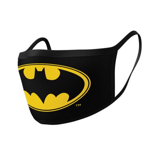 Batman szájmaszk - Logó - 2 db