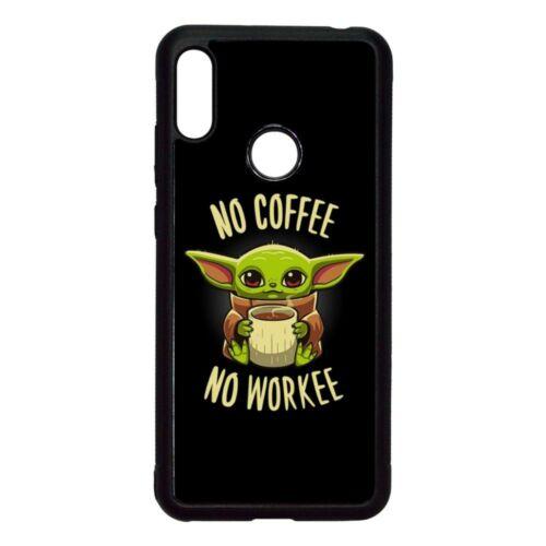 Fekete No coffee No workee - Xiaomi telefontok