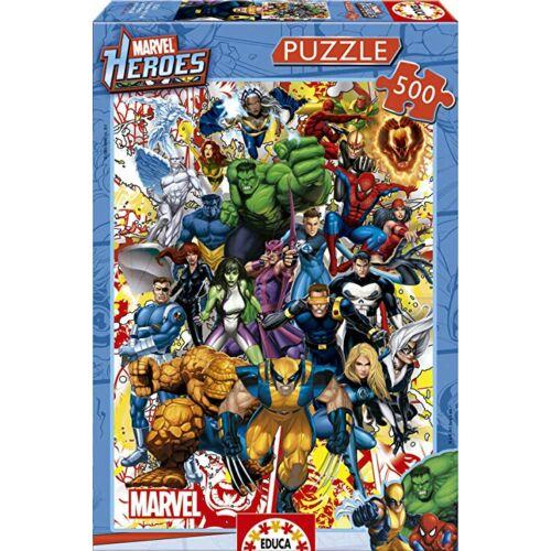 Marvel Hősök Puzzle - 500 darabos
