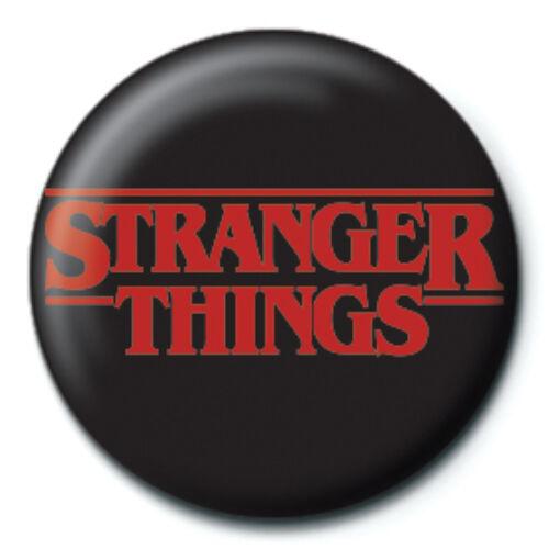Stranger Things kitűző - Logó