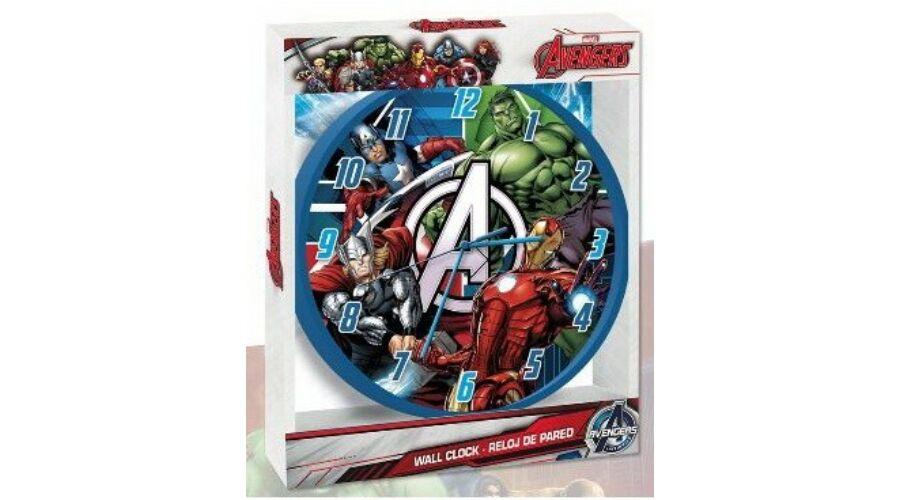 3310912ec4 Bosszúállók, Bosszúállók falióra - Vasember, Amerika Kapitány, Hulk ...