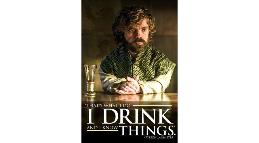 84ac537e15 Trónok harca plakát - Tyrion: I Drink And I Know Things, TV-sorozat  plakátok, 1.990 Ft