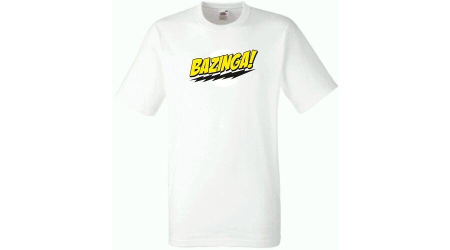 eb3edab2e4 Agymenők - Bazinga Férfi rövid ujjú póló - Több színben, Férfi pólók ...