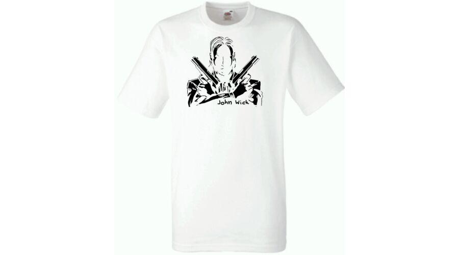 f49d6bb2e6 Férfi pólók, John Wick férfi rövid ujjú póló - Több színben, 3.990 Ft