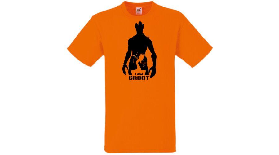 31a60a915a Férfi pólók, I am Groot minima Férfi rövid ujjú póló - Több színben ...