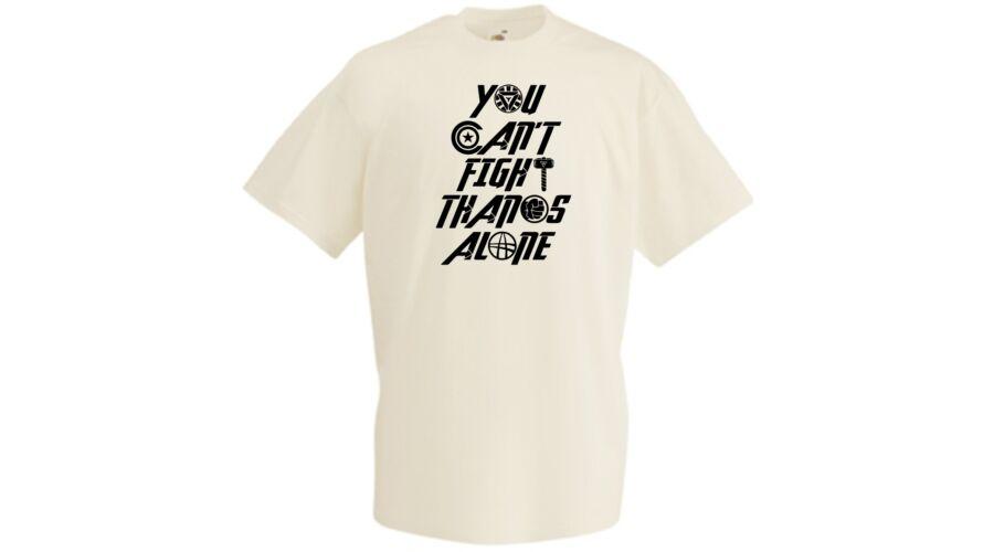 1c3474b355 Natur Bosszúállók: Végtelen háború - You Can't Fight Thanos Alone - Férfi  rövid