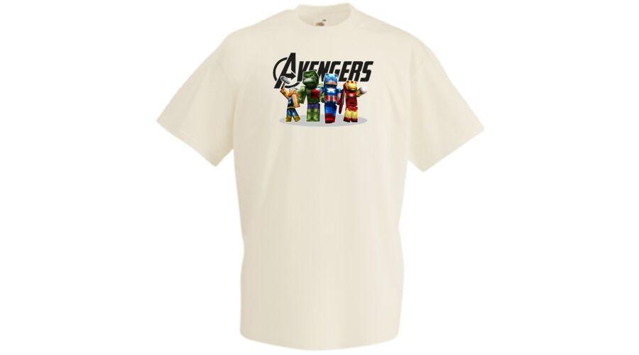 298ddad9be Gyerek pólók, Bosszúállók rövid ujjú gyerek póló - Minecraft - Több ...