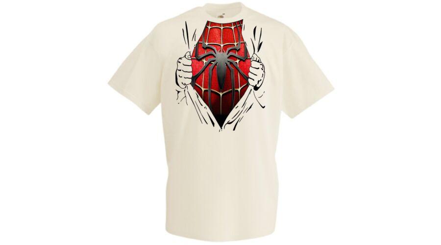 73d7365bede6 Férfi pólók, Spider-Man Szakított ing - Férfi rövid ujjú póló - Több ...