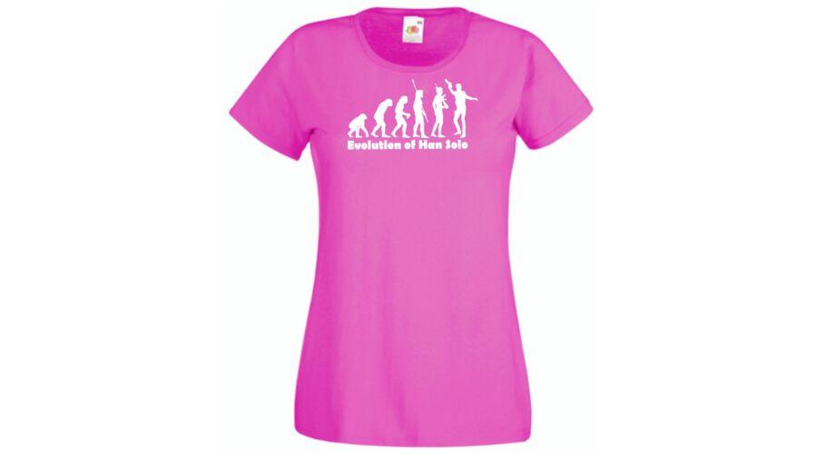 4ad2075d85 Női pólók, Star Wars Han Solo Evolució - Női rövid ujjú póló - Több ...
