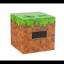 Kép 3/3 - Minecraft ébresztőóra világítással
