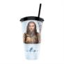Kép 2/4 - Aquaman pohár és Black Manta topper popcorn tasakkal