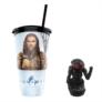 Kép 1/4 - Aquaman pohár és Black Manta topper popcorn tasakkal