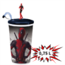 Kép 1/3 - Deadpool 2 0,75 literes pohár és topper (álló Deadpool)