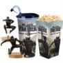 Kép 1/6 - Fekete Párduc pohár és topper szett popcorn tasakkal