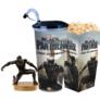 Kép 1/5 - Fekete Párduc pohár és Fekete Párduc topper és popcorn tasak