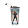 Kép 3/5 - Marvel Kapitány pohár és Carol Danvers topper