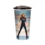 Kép 4/5 - Marvel Kapitány pohár és Carol Danvers topper