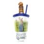 Kép 1/4 - Nyúl Péter pohár, Benjamin topper és popcorn tasak