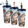Kép 1/9 - Sherlock Gnomes pohár, topper és popcorn tasak szett