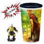 Kép 1/3 - Thor: Ragnarök pohár és Hulk topper